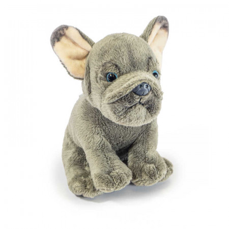 French Bull Dog Sitting 16Cm With Beans Inside