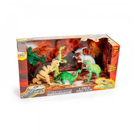 Dinosaur Set 6 Pc