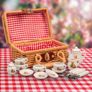 Bear Family Mini Tea Set