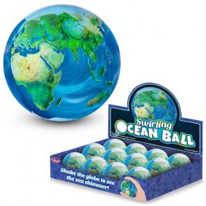 Swirly World Bouncy Ball