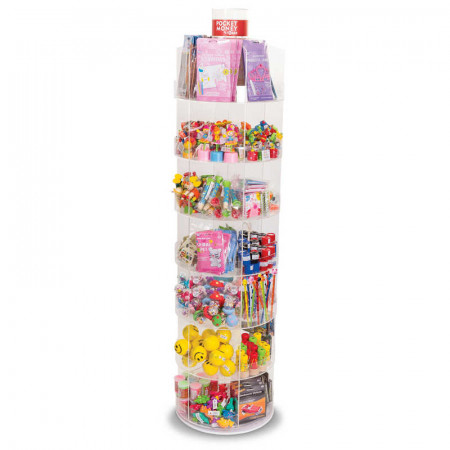 42 Compartment Spinner Stand