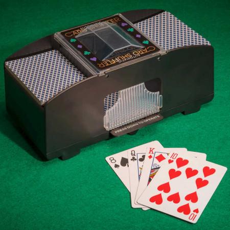 Mélangeur de cartes - 2 jeux