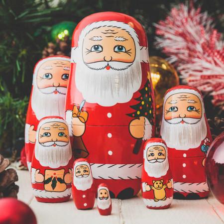 Poupée russe Père Noël