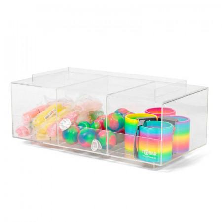 Présentoir trois cubes