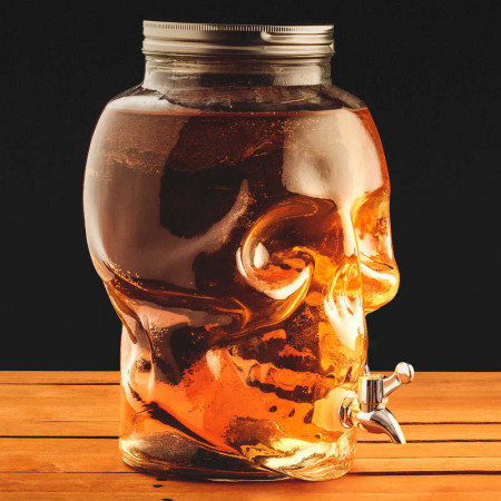 Skull Drinks Dispenser