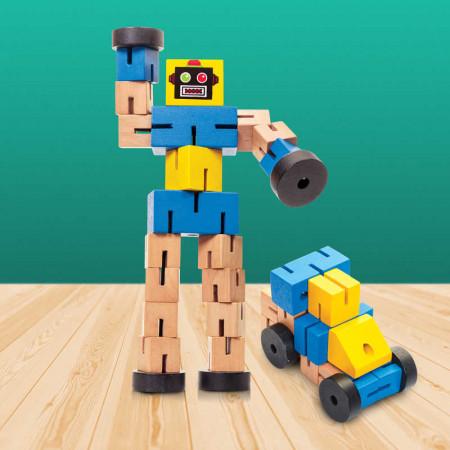 Transformbot en bois