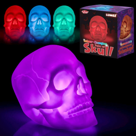 Colour Changing Light Up Skull