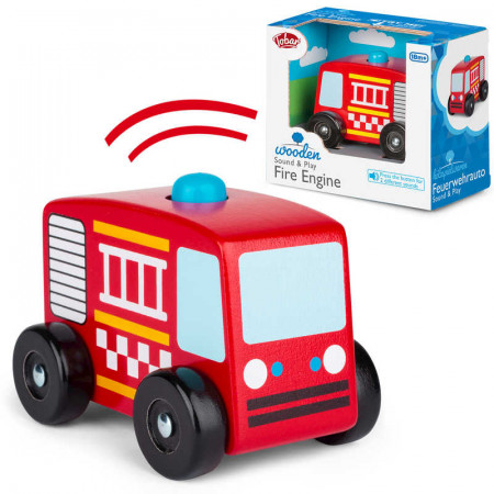 Sound And Play Fire Engine