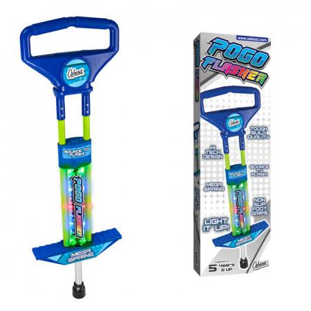 Go Light Up Pogo Stick Go Blue