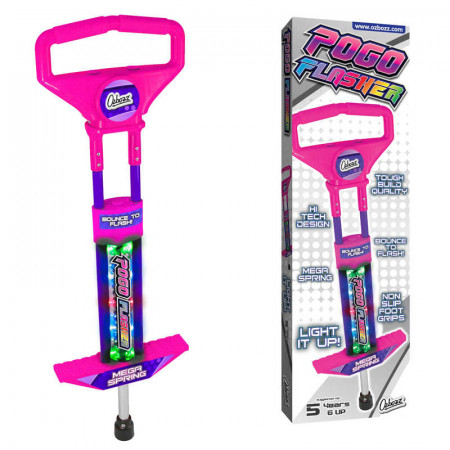 Go Light Up Pogo Stick Go Pink