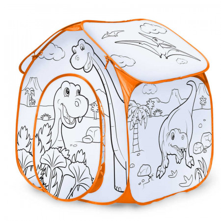 Colour Your Own Play Tent - Dinosaur