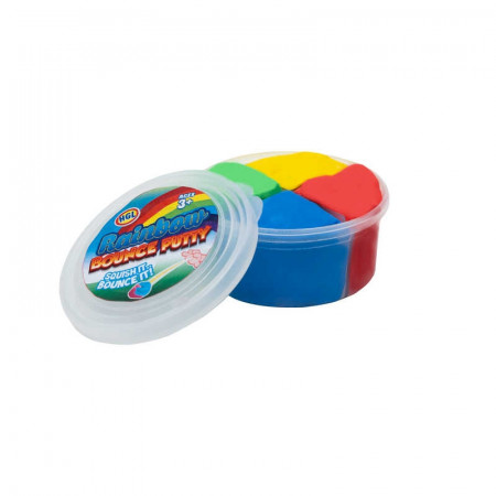 Rainbow Bounce Putty