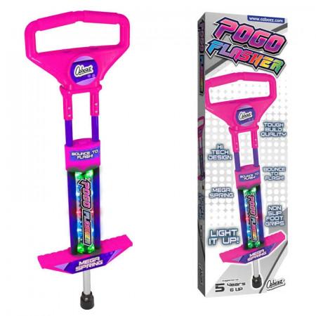 Go Light Up Pogo Stick Go Pink Mail Order Boxed
