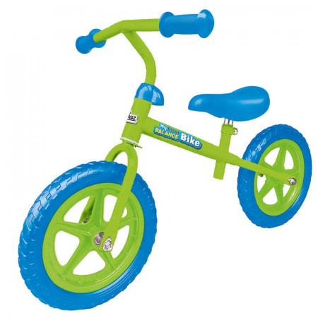 My First Balance Bike - Green-Blue Mail Order Boxed