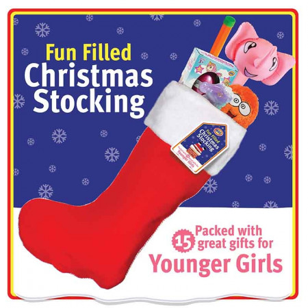 Young Girl Value Filled Stocking