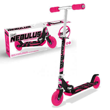 Nebulus Scooter Black and Pink