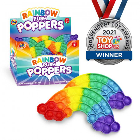 Push Popper Rainbow - Assorted