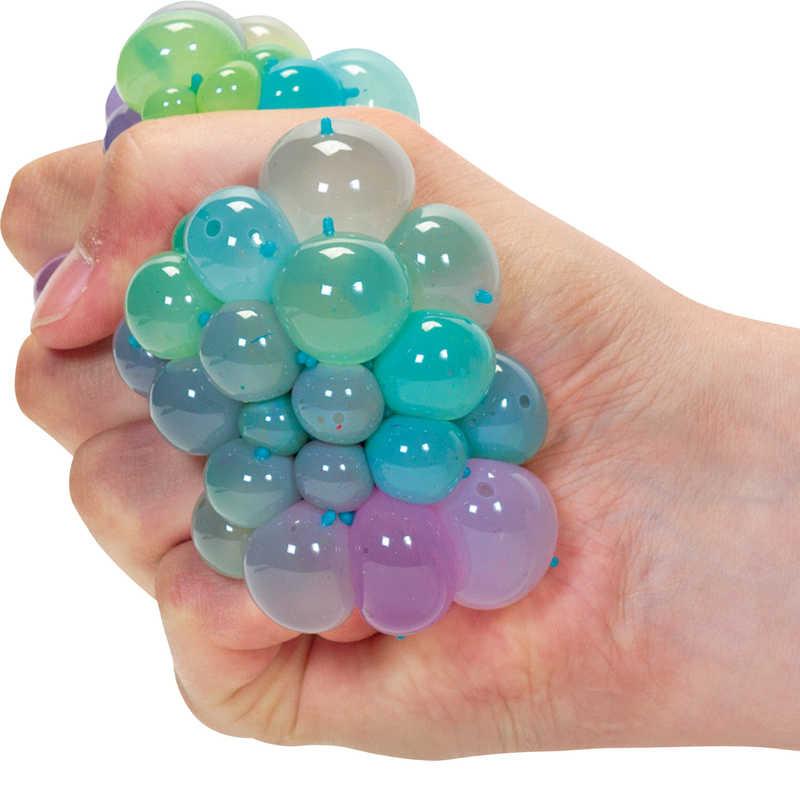 Balle antistress multicolore à filet