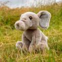 Peluche Animigos - Éléphant d'Afrique