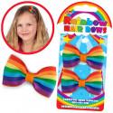 Rainbow Hair Bows